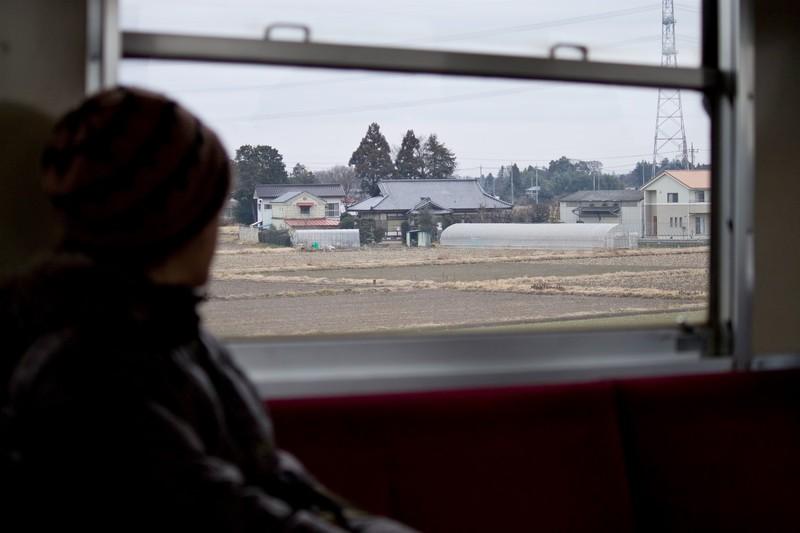 電車での一人旅